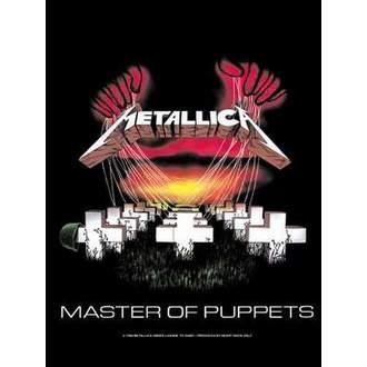 Fahne Metalllica - Master Of Puppets, HEART ROCK, Metallica