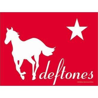 Fahne Deftones - Redpony, HEART ROCK, Deftones