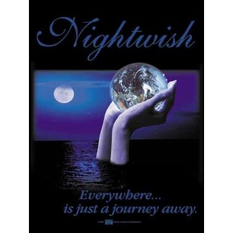 Fahne Nightwish - Everywhere, HEART ROCK, Nightwish
