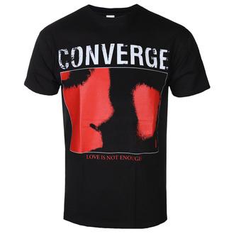 Herren T-Shirt Metal Converge - Love Is Not Enough Black - KINGS ROAD, KINGS ROAD, Converge