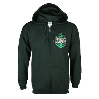 Herren Hoodie Dropkick Murphys - Anchor Admat Green - KINGS ROAD, KINGS ROAD, Dropkick Murphys