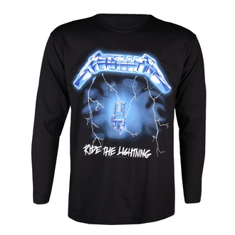 Herren Longsleeve Metallica - Ride The Lightning - NNM - RTMTLLSBRID