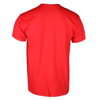 Herren T-Shirt THREE DAYS GRACE - OUTSIDER (RED) - PLASTIC HEAD, PLASTIC HEAD, Three Days Grace