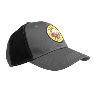 Kappe Cap Guns N' Roses - Circle Logo - VERKOHLEN / BL - ROCK OFF, ROCK OFF, Guns N' Roses