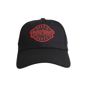 Kappe Cap Guns N' Roses - Red Circle Logo - ROCK OFF, ROCK OFF, Guns N' Roses