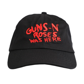Kappe Cap Guns N' Roses - Was Here - ROCK OFF, ROCK OFF, Guns N' Roses