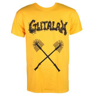 HerrenT-Shirt GUTALAX - toilet brushes - gold - ROTTEN ROLL REX, ROTTEN ROLL REX, Gutalax