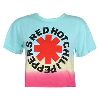 Damen T-Shirt Top RED HOT CHILI PEPPERS - TEAL TO PINK - AMPLIFIED, AMPLIFIED, Red Hot Chili Peppers