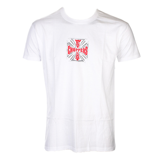 Herren T-Shirt - CROSS - West Coast Choppers, West Coast Choppers