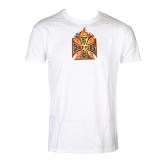 Herren T-Shirt - IN FLAMES - West Coast Choppers, West Coast Choppers