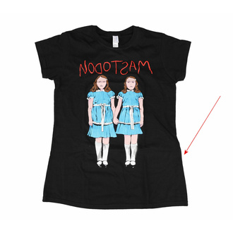 Frauen-T-Shirt Mastodon - Zwillinge - ROCK OFF - MASTEE05LB - BESCHÄDIGT, ROCK OFF, Mastodon