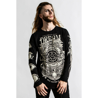 Herren-T-Shirt langarm KILLSTAR - Insomnia - schwarz, KILLSTAR