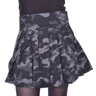 Damen Rock HEARTLESS - JANICE SKIRT - GRÜN CAMO, HEARTLESS