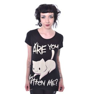 Damen T-Shirt - KITTEN ME - CUPCAKE CULT, CUPCAKE CULT