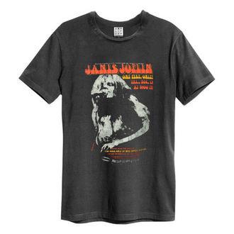 Herren T-Shirt JANIS JOPLIN - MADISON SQUARE GARDENS - HOLZKOHLE - AMPLIFIED, AMPLIFIED, Janis Joplin