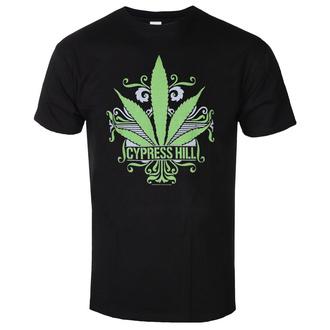 Herren T-Shirt Metal Cypress Hill - California Sweet Leaf - LOW FREQUENCY, LOW FREQUENCY, Cypress Hill