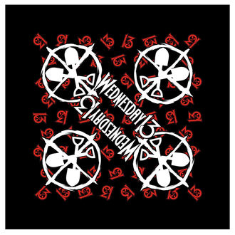 Halstuch Schal Wednesday 13 - Logo Shovels - RAZAMATAZ, RAZAMATAZ, Wednesday 13