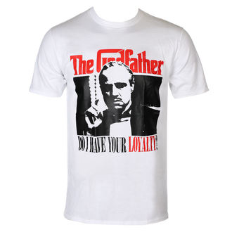 Herren T-Shirt Film The Godfather - Do I have Your Loyalty - HYBRIS, HYBRIS, Kmotr