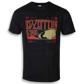 Herren T-Shirt Metal Led Zeppelin - Zeppelin & Smoke Black - NNM, NNM, Led Zeppelin