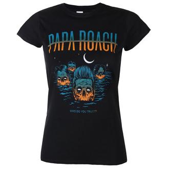 Damen T-Shirt Metal Papa Roach - Drowning WDYT - KINGS ROAD, KINGS ROAD, Papa Roach