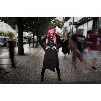 Damen Gothic Mantel Devil Fashion - Gothic Shadow, DEVIL FASHION