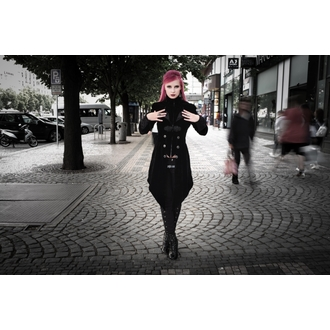 Damen Mantel DEVIL FASHION - Gothic Maelstrom, DEVIL FASHION