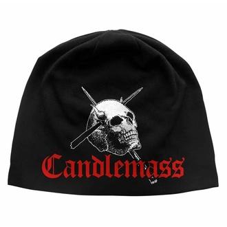 Mütze CANDLEMASS - SCHÄDEL & LOGO, RAZAMATAZ, Candlemass
