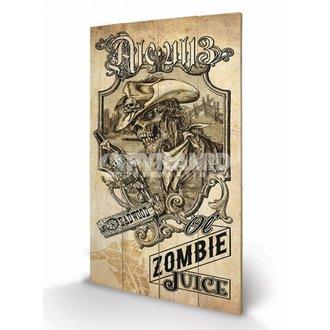 Holzbild Alchemy (Zombie Juice) - Pyramid Posters, ALCHEMY GOTHIC