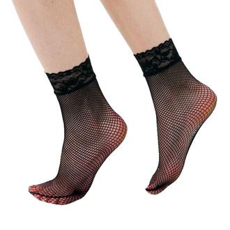 Socken (Strümpfe) PAMELA MANN - Spitzenrand, PAMELA MANN