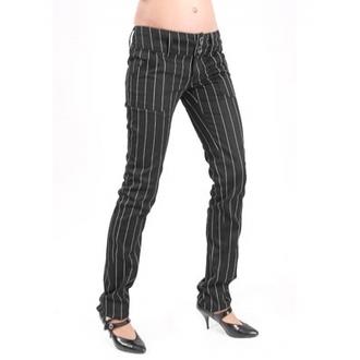 Damen Hose  ADERLASS - mdoe wichtig - Pretty Low-Cut Pin Stripe, MODE WICHTIG