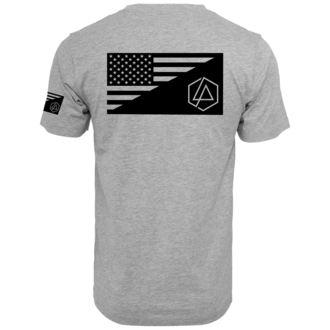 Herren T-Shirt Metal Linkin Park - Flag - URBAN CLASSICS, NNM, Linkin Park
