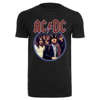 Herren T-Shirt AC / DC - Band Logo - schwarz, NNM, AC-DC