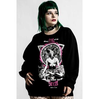 Damen Pullover KILLSTAR - Meditation Batwing - schwarz, KILLSTAR