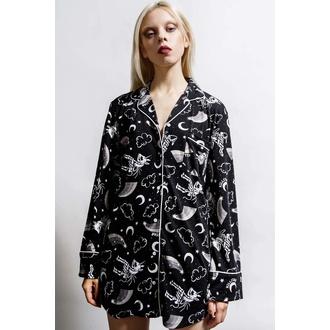 Damen Pyjama KILLSTAR - Moonbow Sleep - Schwarz, KILLSTAR