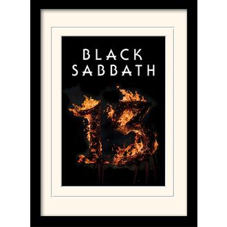 Poster mit Bilderrahmen Black Sabbath - (13) - PYRAMID POSTERS, PYRAMID POSTERS, Black Sabbath
