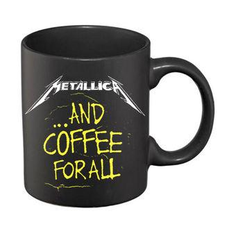 Tasse Metallica - Und Kaffee Zum Alle Matt - Black, NNM, Metallica