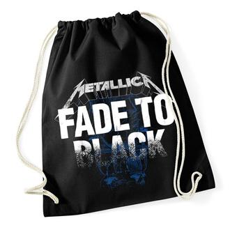 Sportbeutel Metallica - Fade To Black - Kordelzug Schwarz, NNM, Metallica