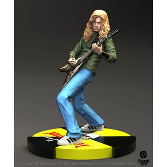 Statue/Figur Megadeth - Dave Mustaine - Rock Iconz Statue, KNUCKLEBONZ, Megadeth