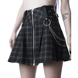 Damen Rock KILLSTAR - Nancy - TARTAN, KILLSTAR