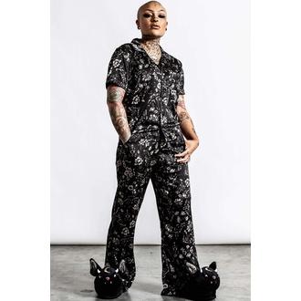 Damen Pyjama (Set) KILLSTAR - No Rest For The Wicked - Schwarz, KILLSTAR