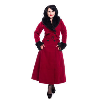 Damen Mantel Rockabella - BIANCA - ROT, ROCKABELLA