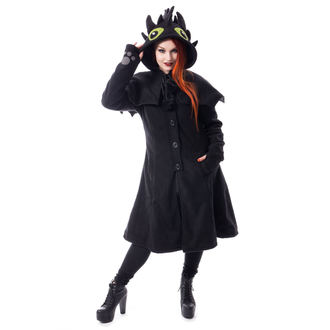 Damen Mantel CUPCAKE CULT - FURY - SCHWARZ, CUPCAKE CULT