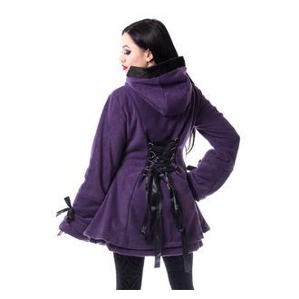 Damen Mantel POIZEN INDUSTRIES - ALISON - LILA, POIZEN INDUSTRIES