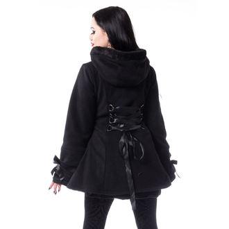 Damen Mantel POIZEN INDUSTRIES - ALISON - SCHWARZ, POIZEN INDUSTRIES