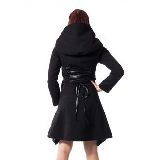 Damen Mantel POIZEN INDUSTRIES - TEARS - SCHWARZ, POIZEN INDUSTRIES