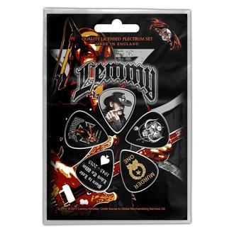 Plektren Motörhead - Lemmy- Stone death forever - ROCK OFF, RAZAMATAZ, Motörhead