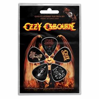 Plektren Picks OZZY OSBOURNE - CLASSIC LOGO, RAZAMATAZ, Ozzy Osbourne