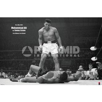 Poster Muhammad Ali (V Liston Landscape) - PYRAMID POSTERS, PYRAMID POSTERS, Muhammad Ali