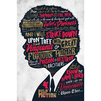Poster Pulp Fiction - (Ezekiel 25:17) - PYRAMID POSTERS, PYRAMID POSTERS, Pulp Fiction