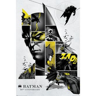 Poster BATMAN - 80th ANNIVERSARY - DC COMICS - PYRAMID POSTERS, PYRAMID POSTERS, Batman